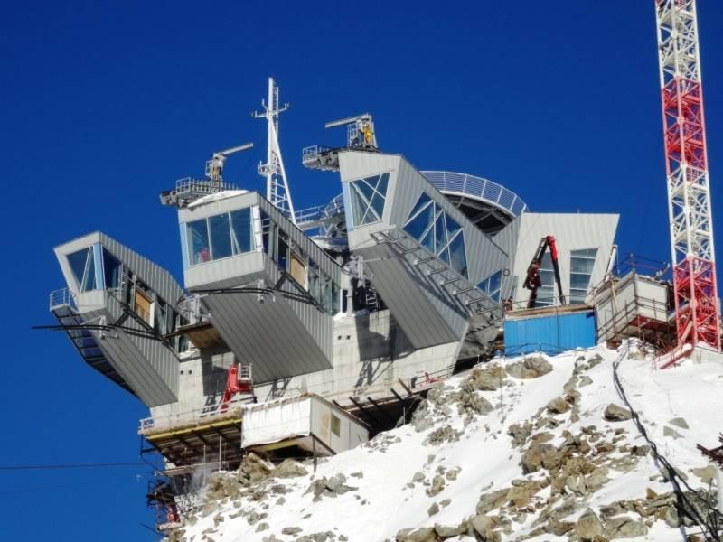 cogeis lavori - alta quota opere civili funiviarie - funivie monte bianco skyway