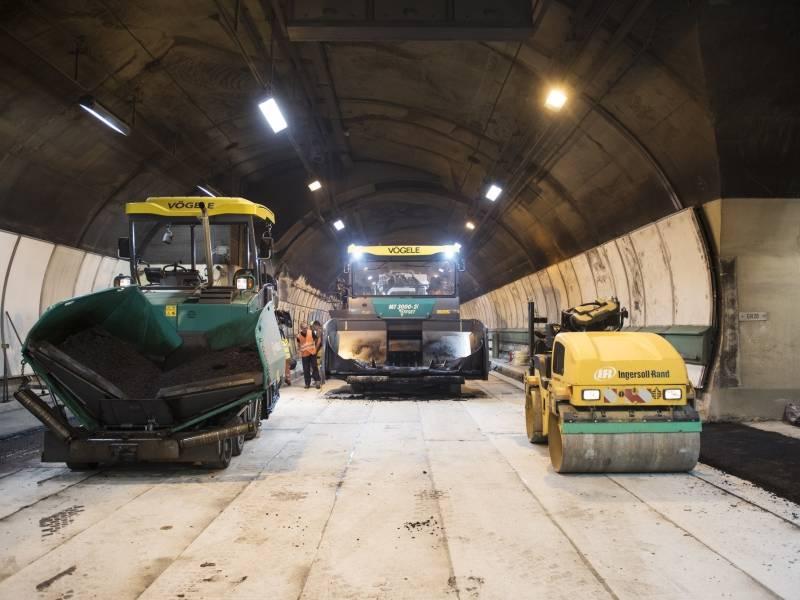 cogeis lavori - infrastrutture pavimentazioni speciali - tunnel del monte bianco