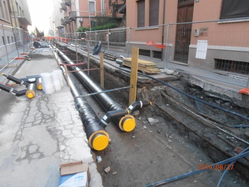 cogeis lavori - infrastrutture teleriscaldamento - telcha