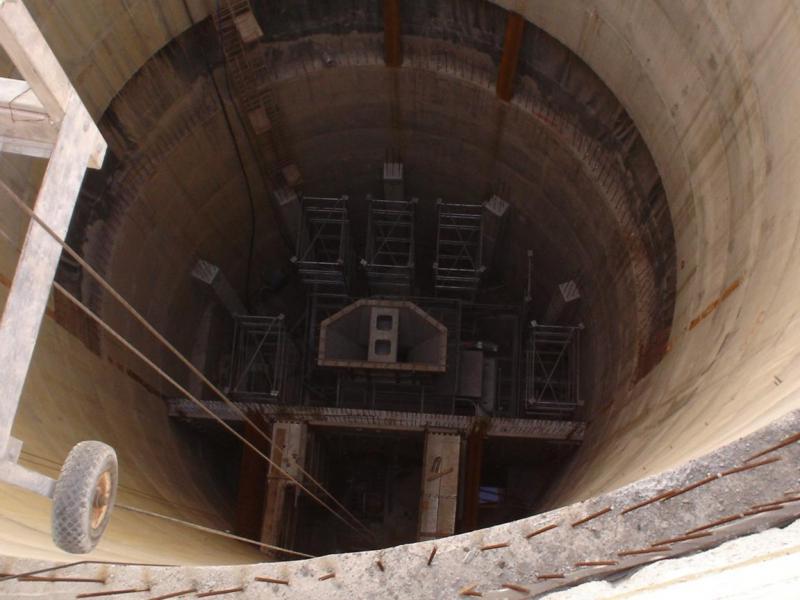 cogeis lavori - tunnelling pozzi - società funiviaria alto tirreno spa