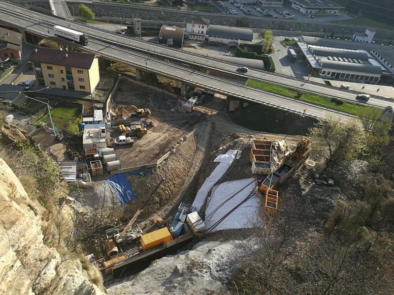 cogeis lavori - tunnelling minitunnelling - champorcher srl - hone III