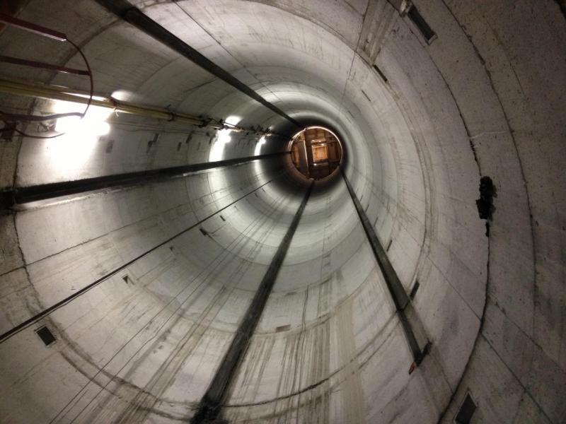 cogeis lavori - tunnelling pozzi - funivie monte bianco - pozzo ascensore