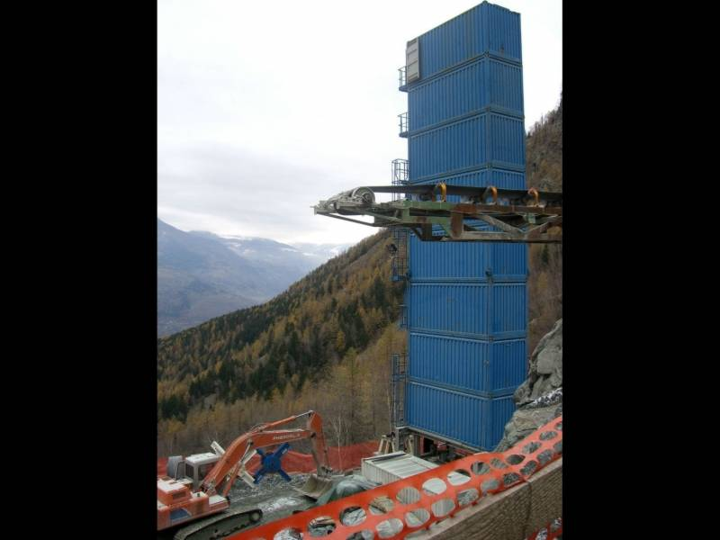 cogeis lavori - tunnelling tbm - idroelettrica les laures