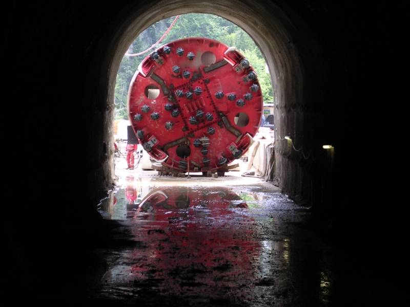 cogeis lavori - tunnelling tbm - snam rete gas italia - tarvisio