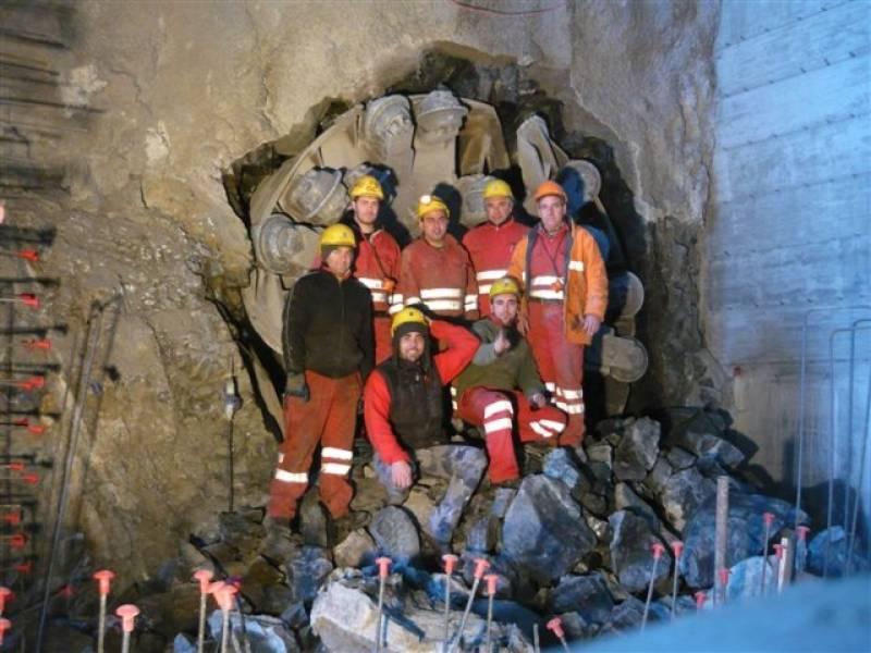 cogeis lavori - tunnelling tbm - società idroelettrica tornalla