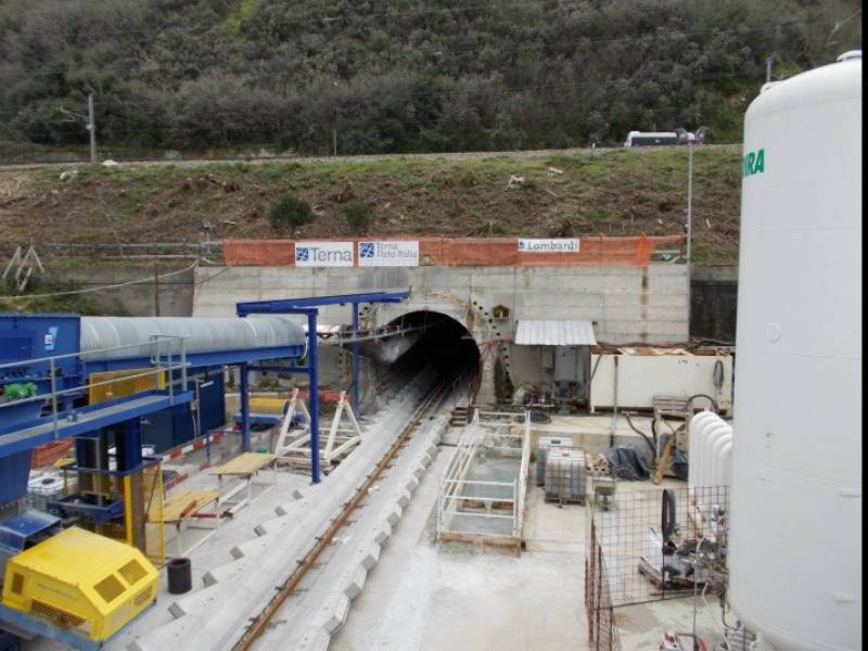 cogeis lavori - tunnelling tbm - terna rete italia