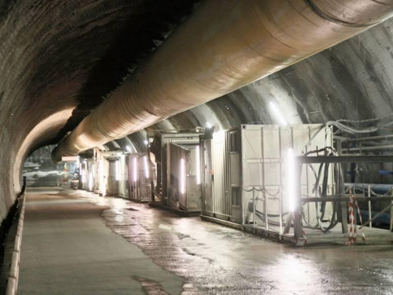 cogeis lavori - tunnelling tunnel d&b - lyon turin ferroviaire